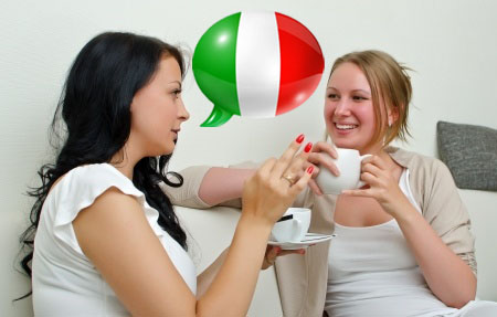 chatting italian