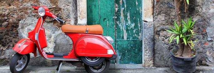 Vespa-Italian courses-Casa di Dante-Amsterdam